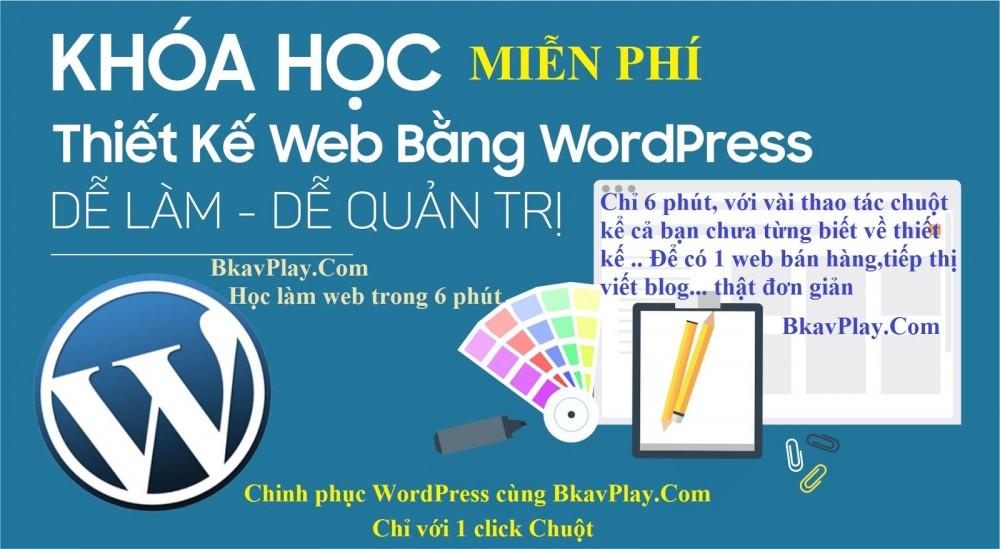 Cách Thiết Kế Web Bằng WordPress