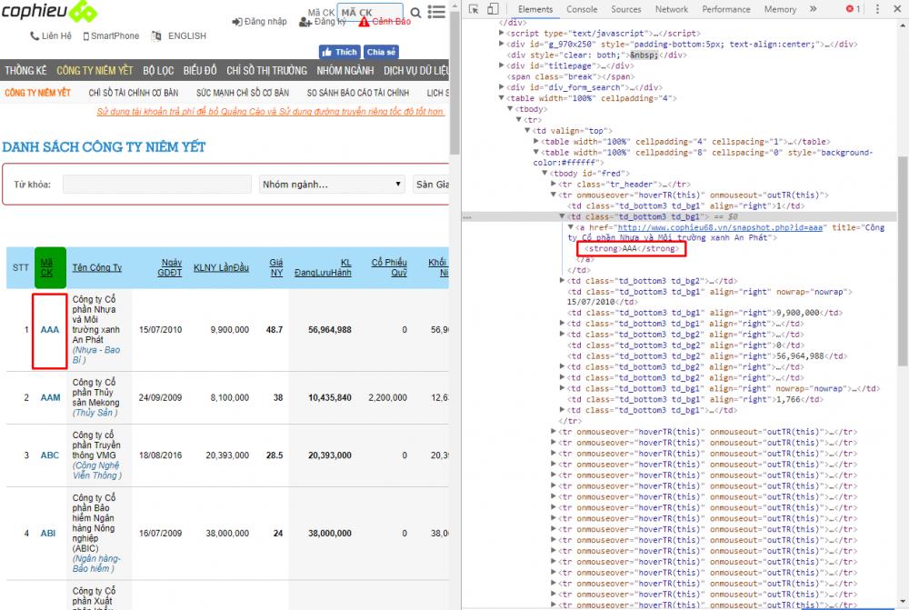 Cách Xem Code Của 1 Trang Web