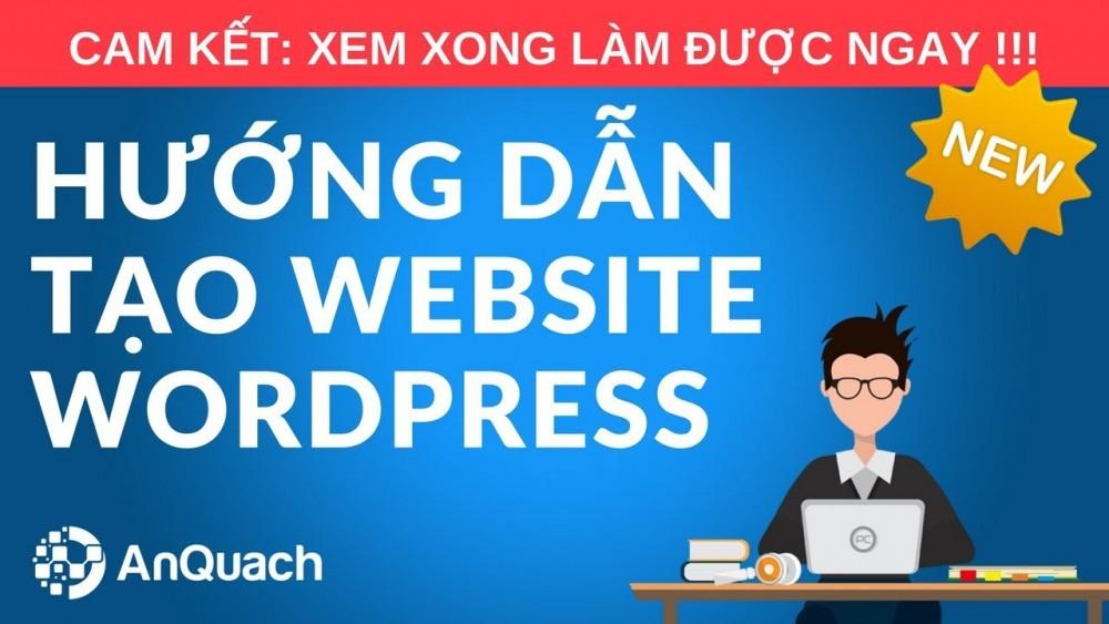 Hướng Dẫn Thiết Kế Web Bằng WordPress