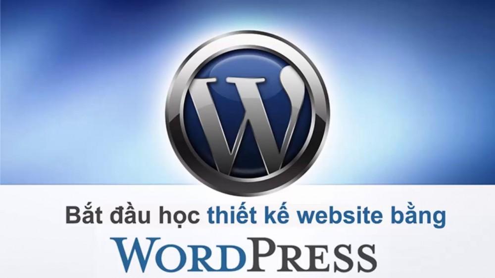 Học Thiết Kế Web Bằng WordPress
