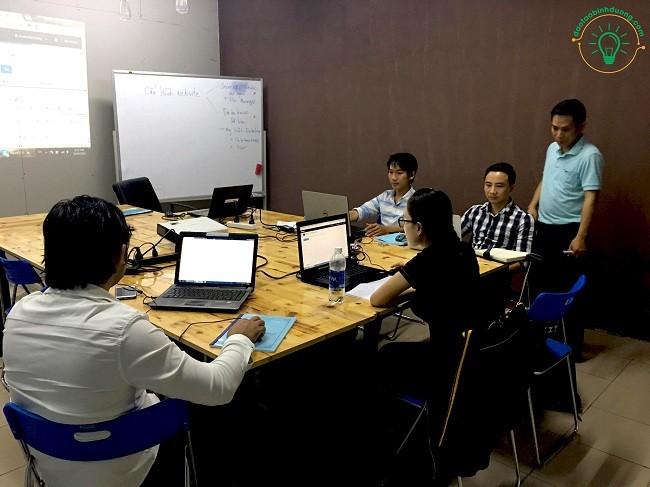Khóa học thiết kế web tại bình dương mới nhất 2020