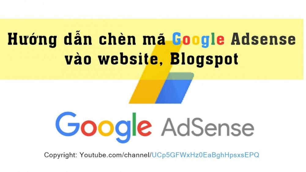 Cách đặt Quảng Cáo Google Adsense