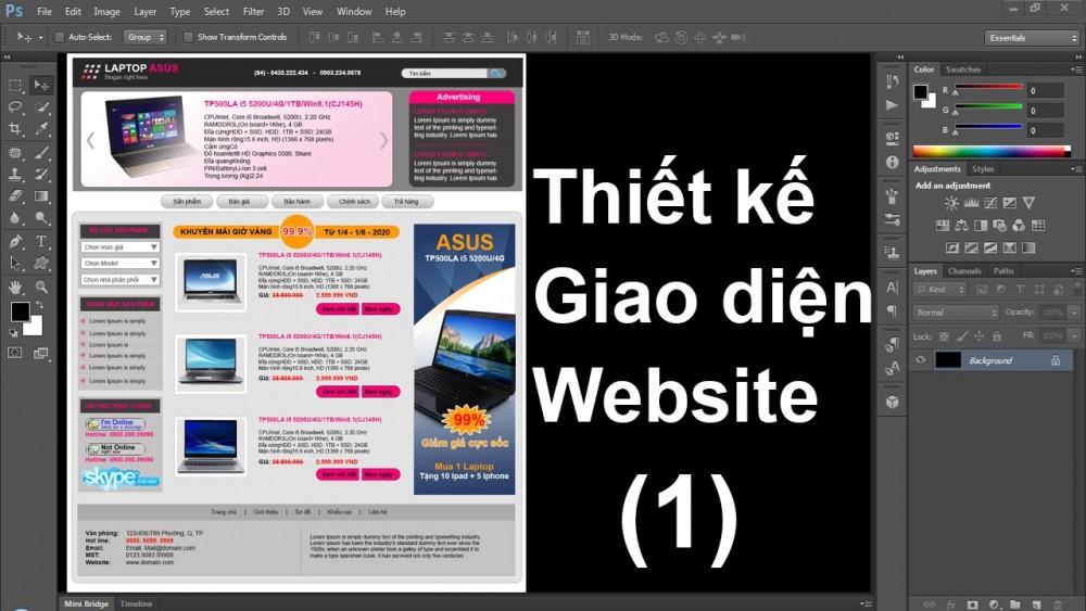 Cách Thiết Kế Trang Web