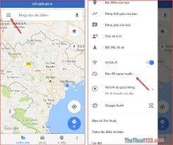 Cách Tải Bản đồ Từ Google Map
