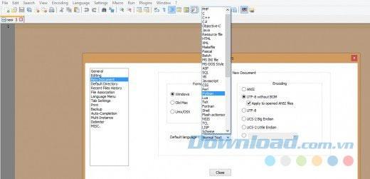 Hướng dẫn các cách sử dụng phần mềm notepad++ mới nhất 2020