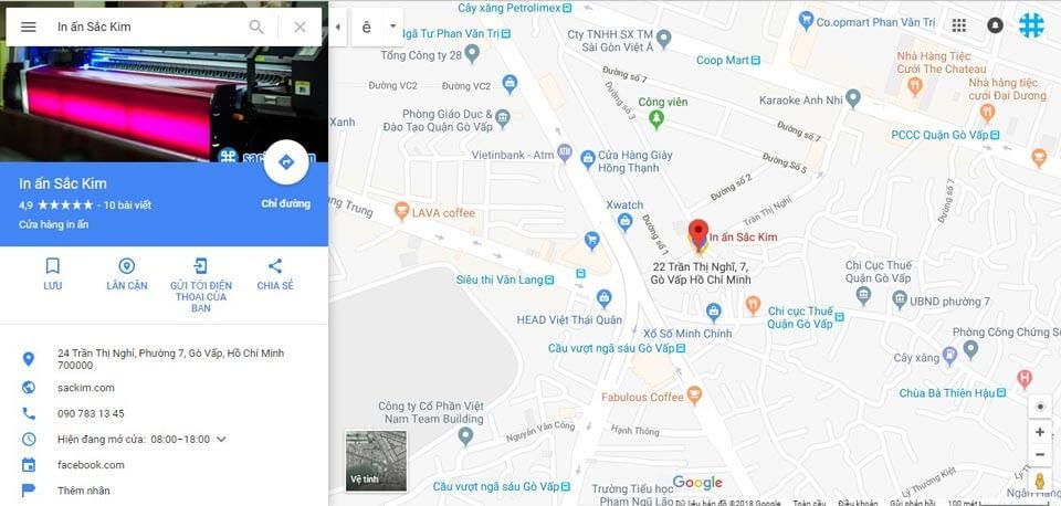 Hướng dẫn cách in bản đồ từ google map mới nhất 2020