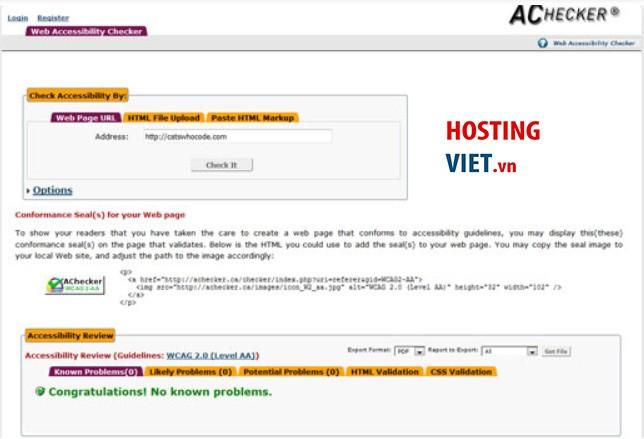 Hướng dẫn cách kiểm tra hosting của website mới nhất 2020