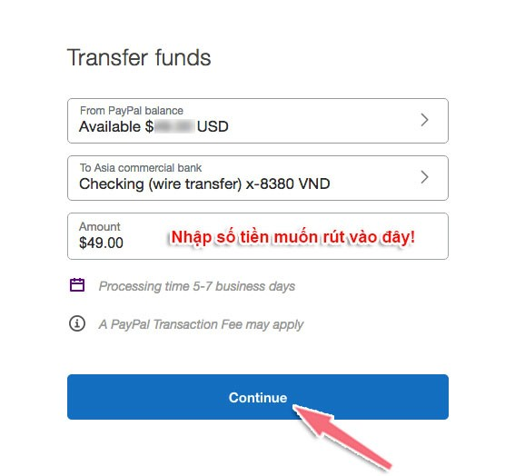 Hướng dẫn cách rút tiền từ paypal về visa acb mới nhất 2020