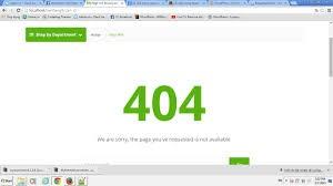 Sửa Lỗi 404 Not Found