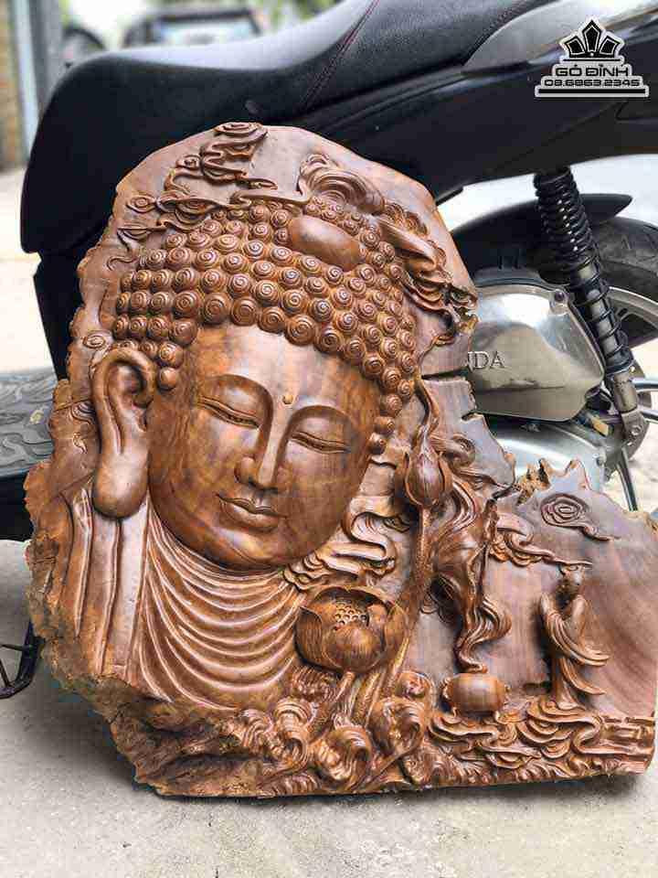 Tượng Phật Tổ Gỗ Xá Xị ( Gù Hương )